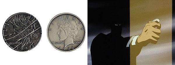 batman coin flip