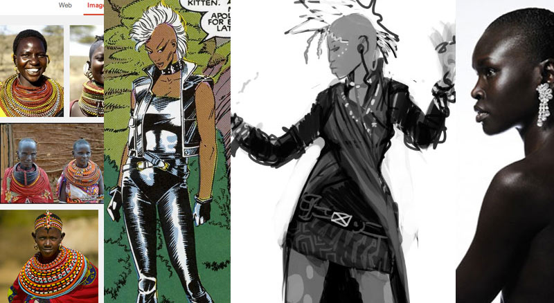 storm redesign concept art process