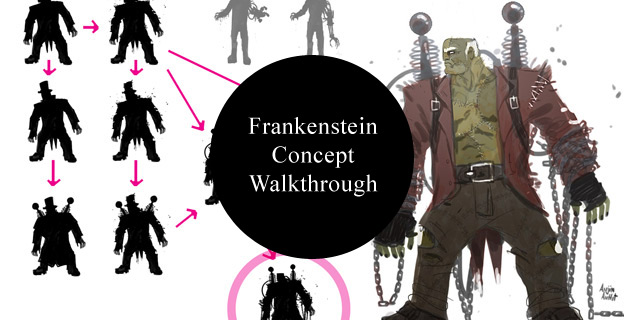 Frankenstein's Monster Concept Walkthrough