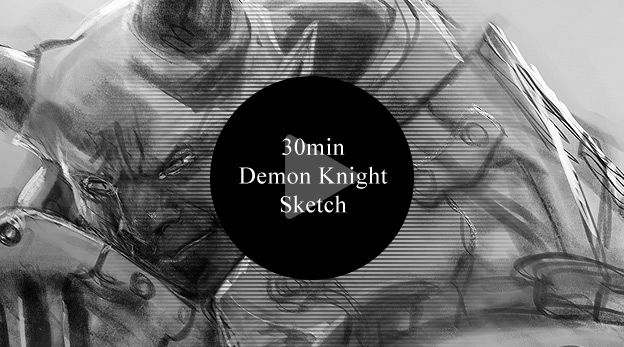 30min Demon Knight Sketch