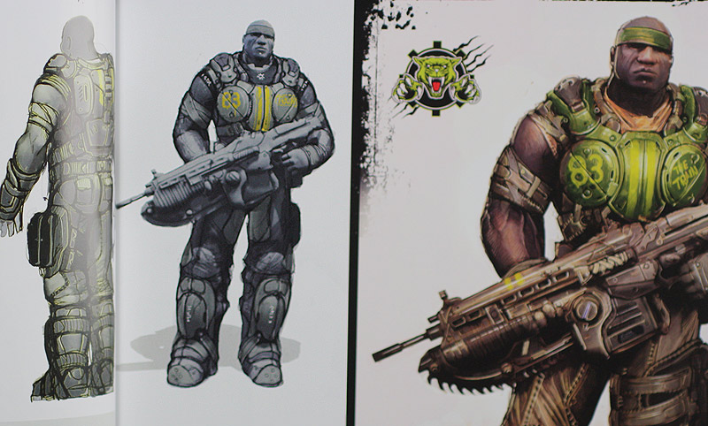 gears of war 3 concept art