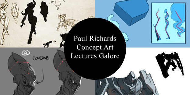 Paul Richards Concept Art Lectures Galore