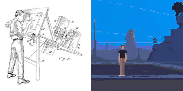 character design for 2d games, sprites and illustration and animation