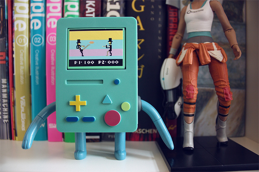 BMO action figure adventure time