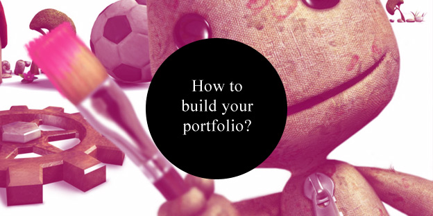 how to build a portfolio for concept artitst