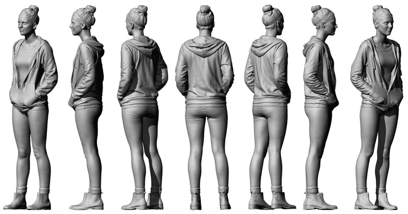3d models and references for concept artists