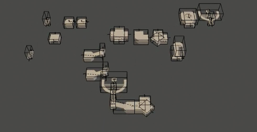 3d level generation, generated level design