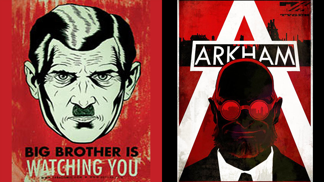 propaganda arkham city and other video games