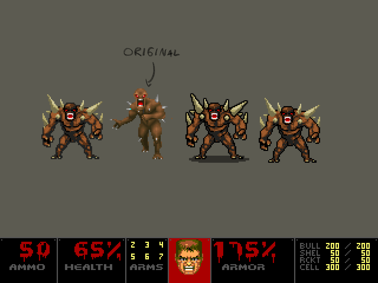 Doom Pixel Demake