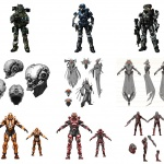 Halo Series Character Design Showcase