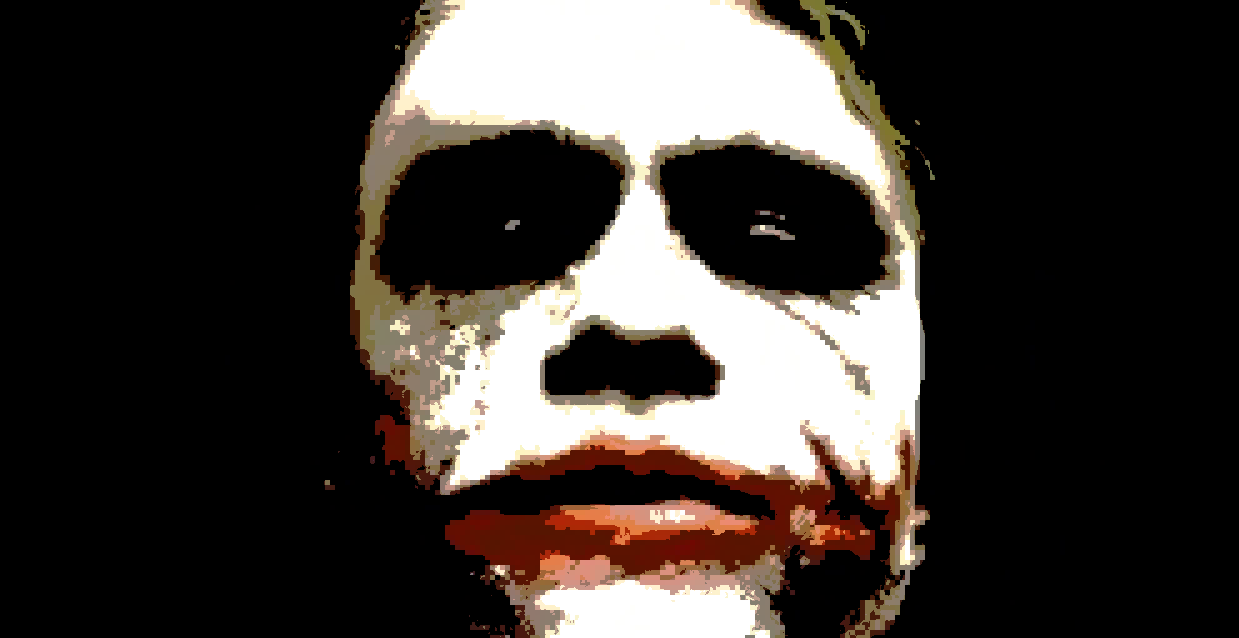 joker is gothic horror character