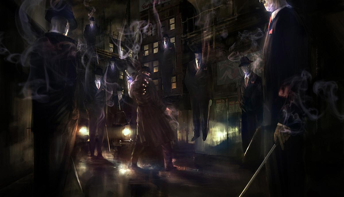 gothic horror art