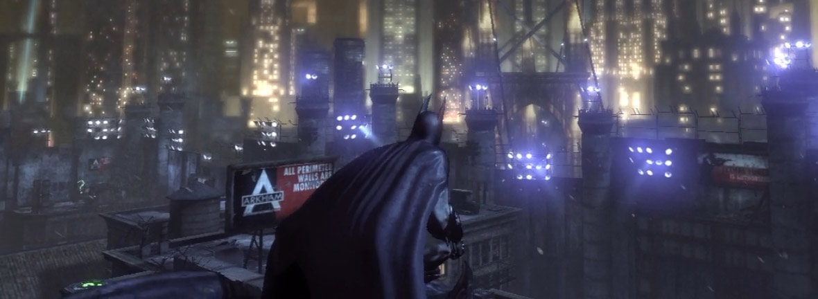 george orwell 1984 batman arkham city