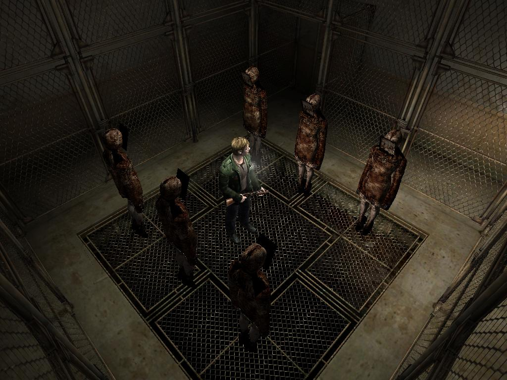 How much of Silent Hill is actually projected by James Sunderland's subconscious?