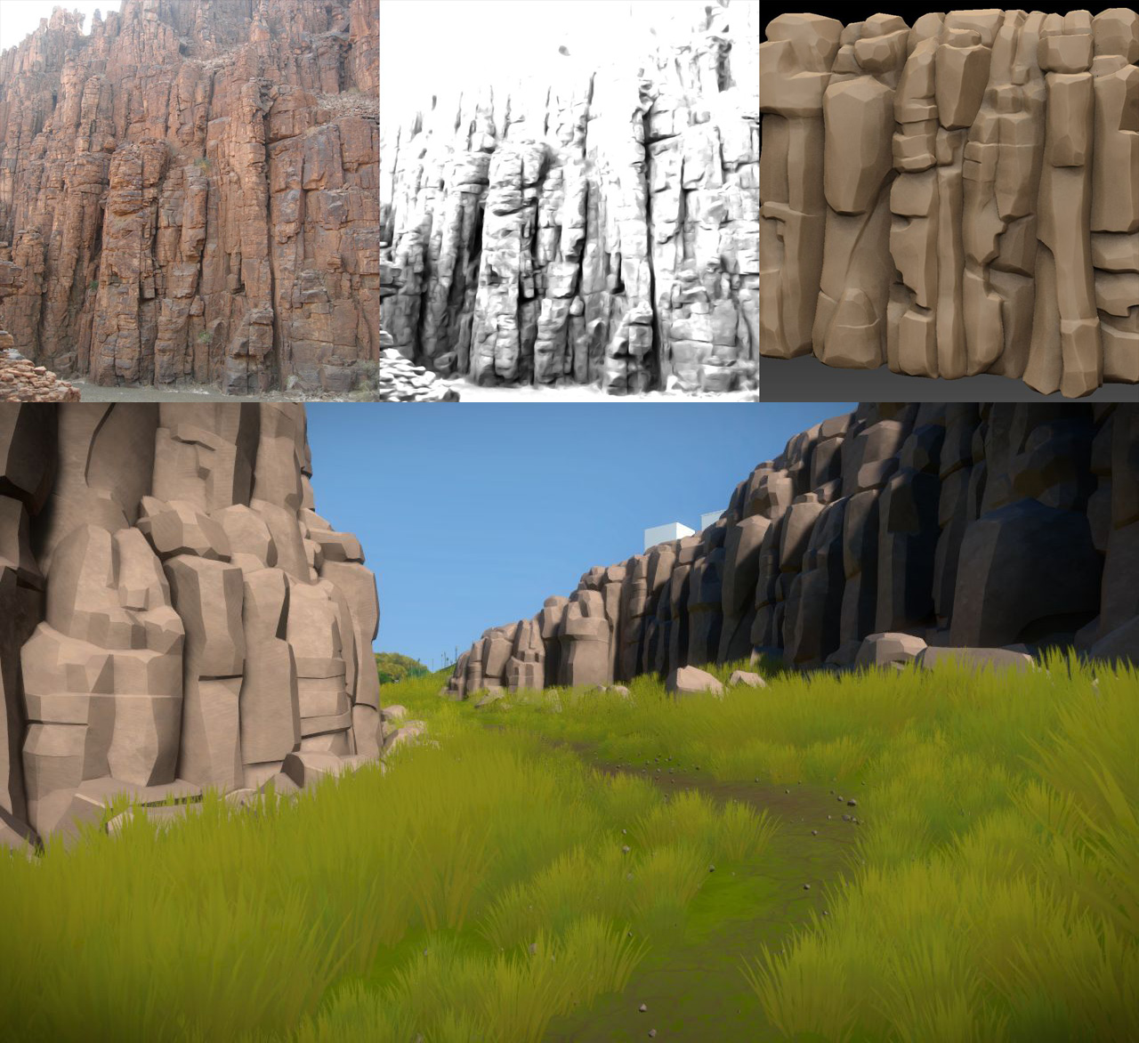 "The devs of The Witness are referring to their style of environment art as ""stylized realism"". via"