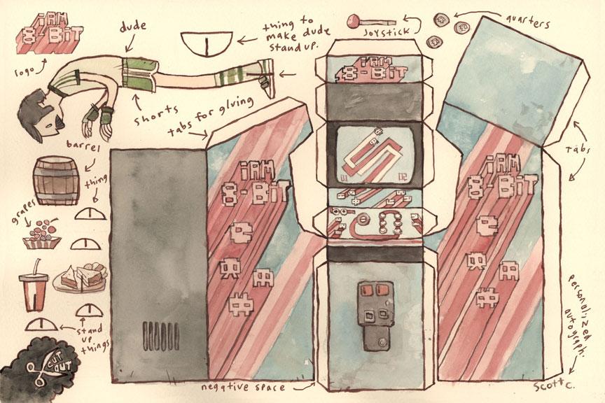paper craft game arcade