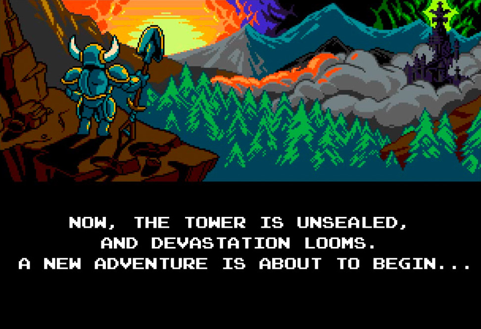 shovel knight and romanticism