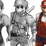 Super Mario AAA Concept Process