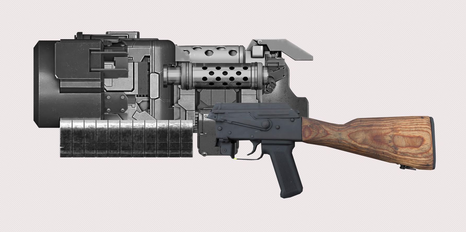 weapon design concept art tutorial